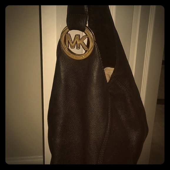 Michael Kors Handbags - Michael Kors Black Leather Handbag